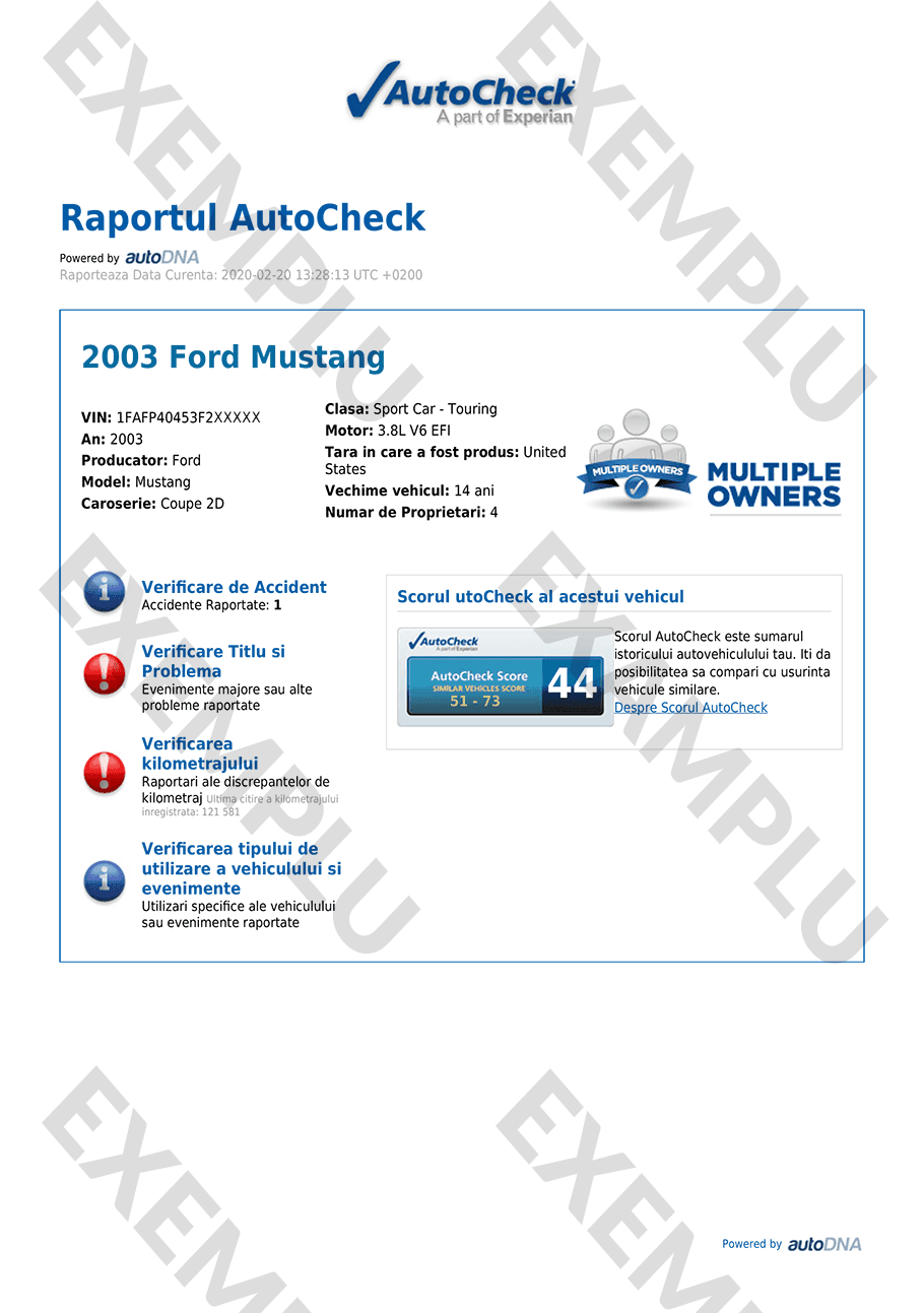 Vehicle History Report Free >> Autocheck Sample Report Carfax Report Example Galleryhip
